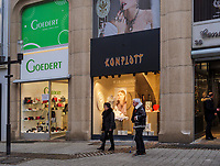 Mode-Gesch&auml;ft auf der Grand Rue, Luxemburg-City, Luxemburg, Europa<br /> Fashion shop at Grand Rue, Luxembourg City, Europe