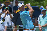 Brandt Snedeker (USA) watches his tee shot on 1 during round 2 of the AT&amp;T Byron Nelson, Trinity Forest Golf Club, at Dallas, Texas, USA. 5/18/2018.<br /> Picture: Golffile | Ken Murray<br /> <br /> <br /> All photo usage must carry mandatory copyright credit (&copy; Golffile | Ken Murray)
