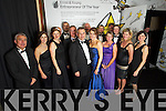 Sean and Angela Ryan with Staff and supporters at the Ernst & Young Entrepreneur awards in Citywest Hotel, Dublin on Thursday Night.