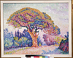Le Pin de Bertaud at Saint-Tropez<br /> Artist:Signac, Paul(1863-1935)<br /> Museum:State A. Pushkin Museum of Fine Arts, Moscow<br /> Method:Oil on canvas<br /> Created:1909<br /> School:France<br /> Category:Landscape<br /> Trend in art:Postimpressionism