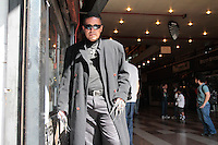 SÃO PAULO, SP - 13.07.2013: GALERIA DO ROCK SP - DIA MUNDIAL DO ROCK - Para a comemoração do dia mundial do rock, a Galeria do Rock em São Paulo montou uma programação especial que conta com covers de personalidades, festival de bandas com o fechamento de Tony Campello por volta das 18hs e desfiles neste sábado (13)  (Foto: Marcelo Brammer/Brazil Photo Press)