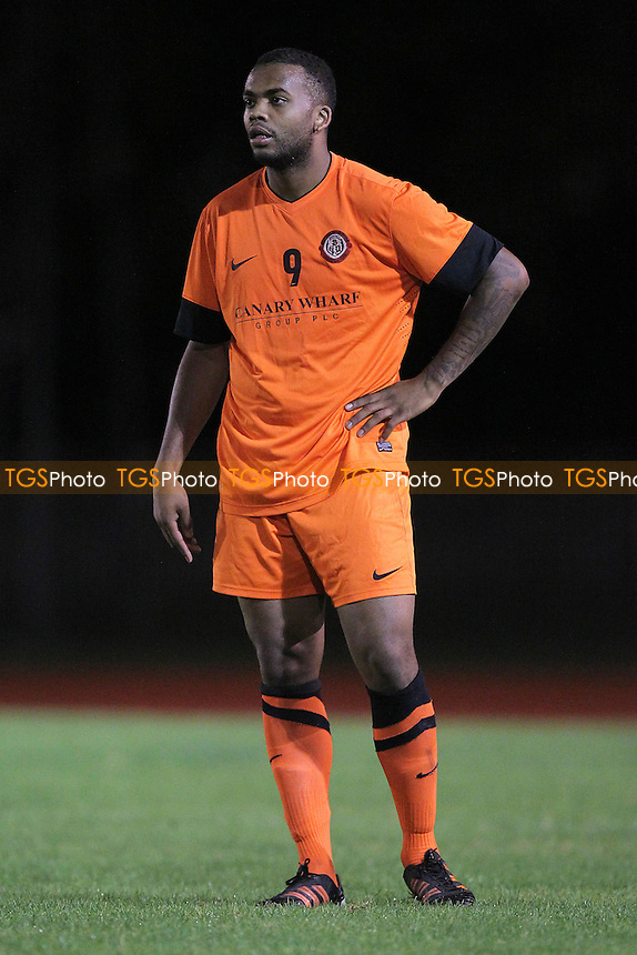 Bethnal Green United player/manager Anton Stephenson - Sporting Bengal United vs Bethnal Green United - Essex Senior League Football at the Mile End Stadium, London - 26/09/12 - MANDATORY CREDIT: Gavin Ellis/TGSPHOTO - Self billing applies where appropriate - 0845 094 6026 - contact@tgsphoto.co.uk - NO UNPAID USE.