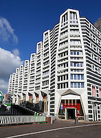 Nieuwbouw appartementen bij Centraal Station in Zaandam