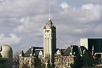 The Spokane County courthouse in Spokane, Washington.