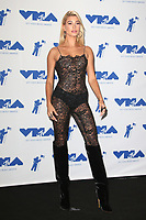 INGLEWOOD, CA - AUGUST 27: Hailey Baldwin in the press room at the 2017 MTV Video Music Awards At The Forum in Inglewood, California on August 27, 2017. Credit: FS/MediaPunch