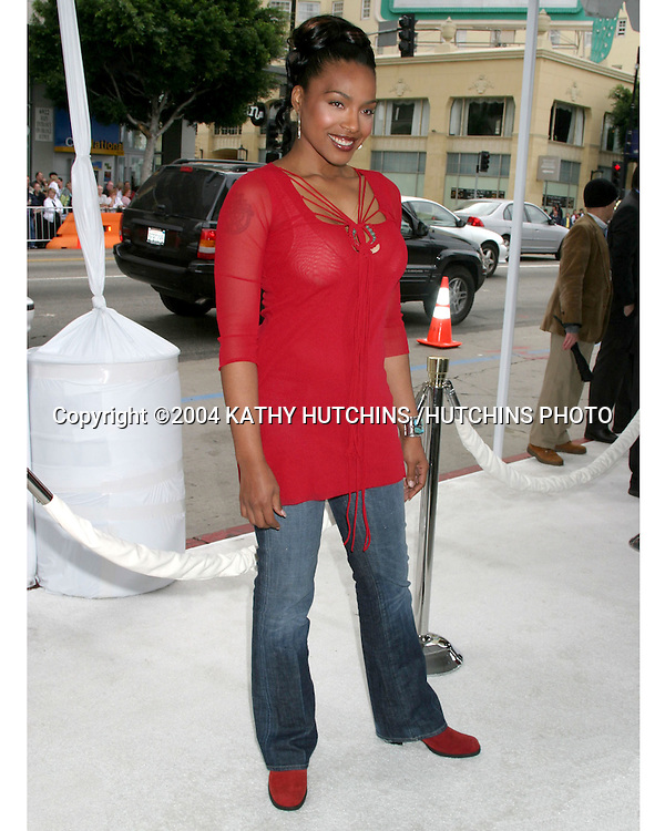 "©2004 KATHY HUTCHINS /HUTCHINS PHOTO.PREMIERE OF ""POLAR EXPRESS"".LOS ANGELES, CA.NOVEMBER 6, 2004..NONA GAYE"