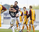 02/05/2009  Copyright  Pic : James Stewart.sct_jspa04_falkirk_v_motherwell.CARL FINNIGAN CELEBRATES AFTER HE SCORES FALKIRK'S FIRST.James Stewart Photography 19 Carronlea Drive, Falkirk. FK2 8DN      Vat Reg No. 607 6932 25.Telephone      : +44 (0)1324 570291 .Mobile              : +44 (0)7721 416997.E-mail  :  jim@jspa.co.uk.If you require further information then contact Jim Stewart on any of the numbers above.........
