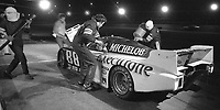 The #88 March Chevrolet 82G of Terry Wolters, Randy Lanier, and Marty Hinze makes a pit stop at night during the 1983 24 Hours of Daytona , Daytona Internationa Speedway, Daytona Beach, FL, February 1-2, 1983.  (Photo by Brian Cleary / www.bcpix.com)