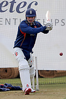 Alastair Cook in batting action during Essex CCC Pre-Season Practice at The Cloudfm County Ground on 5th March 2018