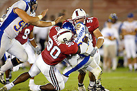 Louis Hobson during Stanford's 63-26 win over San Jose State on September 14, 2002 at Stanford Stadium.<br />
