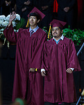 A photograph during the Sparks High School Graduation on Saturday, June 10, 2017 at Lawlor Events Center in Reno.