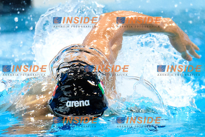 ITALY ITA <br /> DOTTO Luca GUTTUSO Giuseppe BOFFA Jonathan <br /> LEONARDI Luca <br /> 4x00 Freestyle Men <br /> London, Queen Elizabeth II Olympic Park Pool <br /> LEN 2016 European Aquatics Elite Championships <br /> Diving  <br /> Day 08 16-05-2016<br /> Photo Andrea Staccioli/Deepbluemedia/Insidefoto