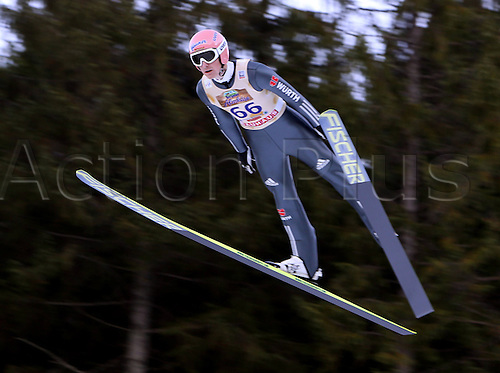 13.12.2013 Titisee-Neustadt Germany. Mens World Cup Ski-Jumping Training and Qualification. Severin Freund (GER)