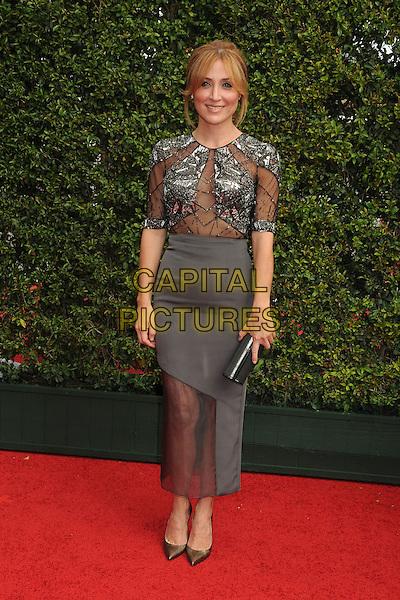 12 September 2015 - Los Angeles, California - Sasha Alexander. 2015 Creative Arts Emmy Awards - Arrivals held at the Microsoft Theatre. <br /> CAP/ADM/BP<br /> &copy;BP/ADM/Capital Pictures