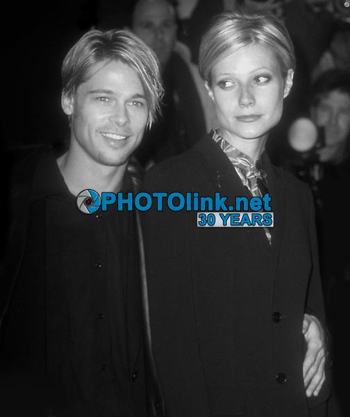 Brad Pitt Gwyneth Paltrow 1997<br /> Devil's Own premiere<br /> Photo By John Barrett/PHOTOlink