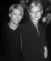 Brad Pitt Gwyneth Paltrow 1997<br /> Devil's Own premiere<br /> Photo By John Barrett/PHOTOlink