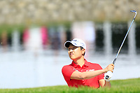 Jeunghun Wang of Team South Korea during day 2 of the GolfSixes played at The Centurion Club, St Albans, England. <br /> 06/05/2018.<br /> Picture: Golffile | Phil Inglis<br /> <br /> <br /> All photo usage must carry mandatory copyright credit (&copy; Golffile | Phil Inglis)