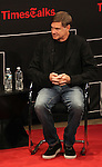 Gus Van Sant on stage at TimesTalks at the Times Center in New York City. November 27, 2012.