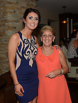 Leanne Finglas celebrating her 21st birthday with aunt Pat Finglas in The Punt. Photo:Colin Bell/pressphotos.ie