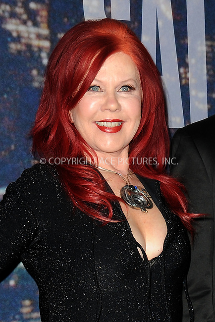 WWW.ACEPIXS.COM<br /> February 15, 2015 New York City<br /> <br /> Kate Pierson walks the red carpet at the SNL 40th Anniversary Special at 30 Rockefeller Plaza on February 15, 2015 in New York City.<br /> <br /> Please byline: Kristin Callahan/AcePictures<br /> <br /> ACEPIXS.COM<br /> <br /> Tel: (646) 769 0430<br /> e-mail: info@acepixs.com<br /> web: http://www.acepixs.com