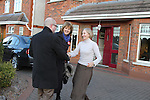 Ged Nash and Joan Burton canvassing in Wheaton Hall..(Photo credit should read Jenny Matthews www.newsfile.ie)....This Picture has been sent you under the conditions enclosed by:.Newsfile Ltd..The Studio,.Millmount Abbey,.Drogheda,.Co Meath..Ireland..Tel: +353(0)41-9871240.Fax: +353(0)41-9871260.GSM: +353(0)86-2500958.email: pictures@newsfile.ie.www.newsfile.ie.