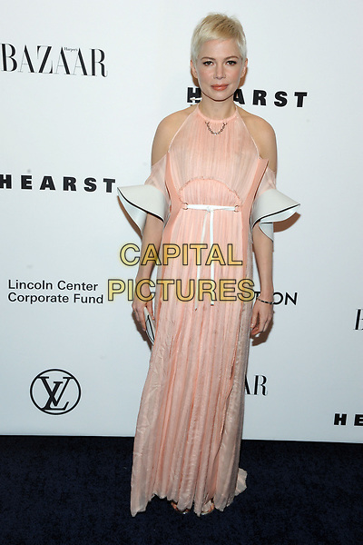 NEW YORK, NY - NOVEMBER 30: Michelle Williams at the Lincoln Center Corporate Fund Gala at Alice Tully Hall in New York City on November 30, 2017.  <br /> CAP/MPI/JP<br /> &copy;JP/MPI/Capital Pictures