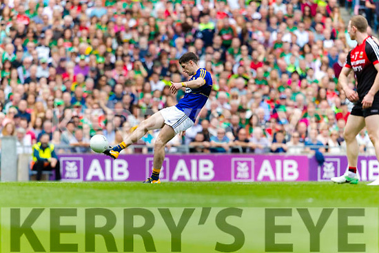 Paul Geaney Kerry in action against  Mayo in the All Ireland Semi Final Replay in Croke Park on Saturday.