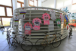 The peloton will pass by the Madonna del Ghisallo and Cycling Museum today during Stage 15 of the 2019 Giro d'Italia, running 232km from Ivrea to Como, Italy. 26th May 2019<br /> Picture: Eoin Clarke   Cyclefile<br /> <br /> All photos usage must carry mandatory copyright credit (© Cyclefile   Eoin Clarke)