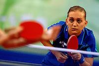 Nikoleta Stefanova Italy. Table Tennis. Tennis da Tavolo.PKU Gymnasium.Pechino - Beijing 20/8/2008 Olimpiadi 2008 Olympic Games.Foto Andrea Staccioli Insidefoto
