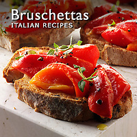 Bruschettas | Bruschettas Italian food Pictures, Photos & Images