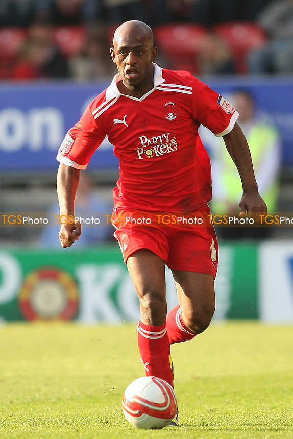 Terrell Forbes of Leyton Orient- Leyton Orient vs Sheffield Wednesday - nPower League One Football at the Matchroom Stadium, Brisbane Road - 24/03/12 - MANDATORY CREDIT: George Phillipou/TGSPHOTO - Self billing applies where appropriate - 0845 094 6026 - contact@tgsphoto.co.uk - NO UNPAID USE.