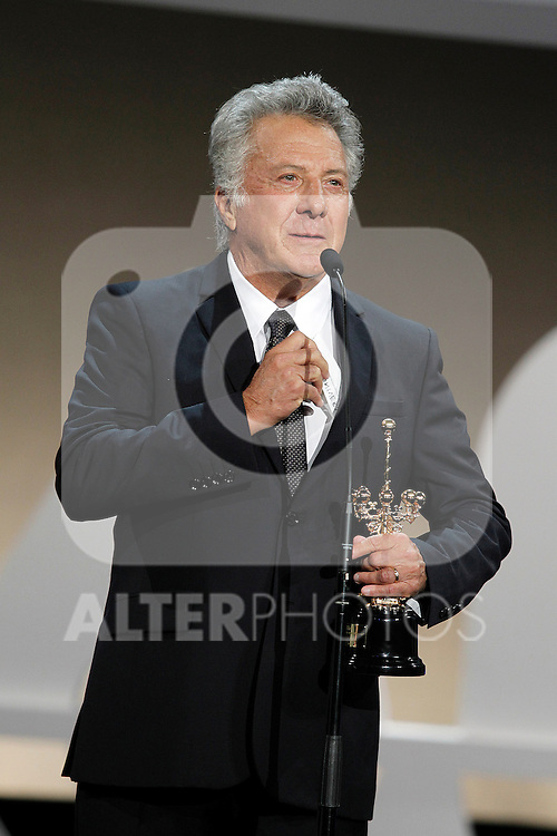 Dustin Hoffman receives the Donosti Award during the 60th San Sebastian Donostia International Film Festival - Zinemaldia.September 29,2012.(ALTERPHOTOS/ALFAQUI/Acero)
