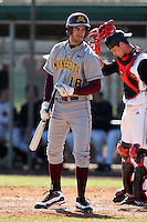 February 28, 2010:  Justin Gominsky of the Minnesota Golden Gophers during the Big East/Big 10 Challenge at Raymond Naimoli Complex in St. Petersburg, FL.  Photo By Mike Janes/Four Seam Images