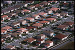 3-1-01.In West Miami-Dade suburban sprawl is causing a drought and water restrictions are in effect.