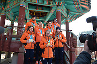 OLYMPIC GAMES: PYEONGCHANG: 25-02-2018, Gangneung, Olympic medalists TeamNL photoshoot, ©photo Martin de Jong