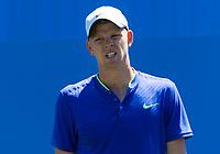 KYLE EDMUND (GBR)<br /> <br /> TENNIS - AEGON INTERNATIONAL - DEVONSHIRE PARK, EASTBOURNE - ATP - 500 - WTA PREMIER, GB - 2017  <br /> <br /> <br /> &copy; TENNIS PHOTO NETWORK