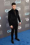 SANTA MONICA, CA - JANUARY 11: Singer/songwriter/actor Nick Jonas attends The 23rd Annual Critics' Choice Awards at Barker Hangar on January 11, 2018 in Santa Monica, California.