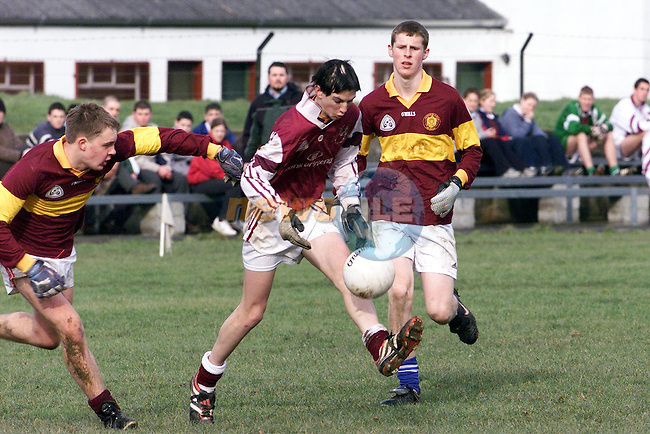 Francis McCullough in action for St Olivers in their win over De La  Salle, Dundalk..pic: Newsfile