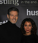 "Days of Our Lives Kevin Spirtas & Daphne Rubin-Vega star in the third and final season of ""Hustling"" and attend the screening on December 16, at the Tribeca Cinemas, New York City, New York. The evening had a red carpet, cocktails and the screening. (Photo by Sue Coflin/Max Photos)"