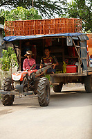 Battambang - Cambodia - June 2020 - On the road to<br /> Ruins of WAT EK PHNOM in early morning