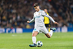 Marco Asensio of Real Madrid in action during the Europe Champions League 2017-18 match between Real Madrid and Borussia Dortmund at Santiago Bernabeu Stadium on 06 December 2017 in Madrid Spain. Photo by Diego Gonzalez / Power Sport Images
