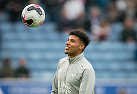 James Justin of Leicester City pre match during the Premier League match between Leicester City and Newcastle United at the King Power Stadium, Leicester, England on 29 September 2019. Photo by Andy Rowland.