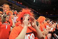 Virginia fans during an ACC basketball game Jan. 31, 2015 in Charlottesville, VA. Duke won 69-63.