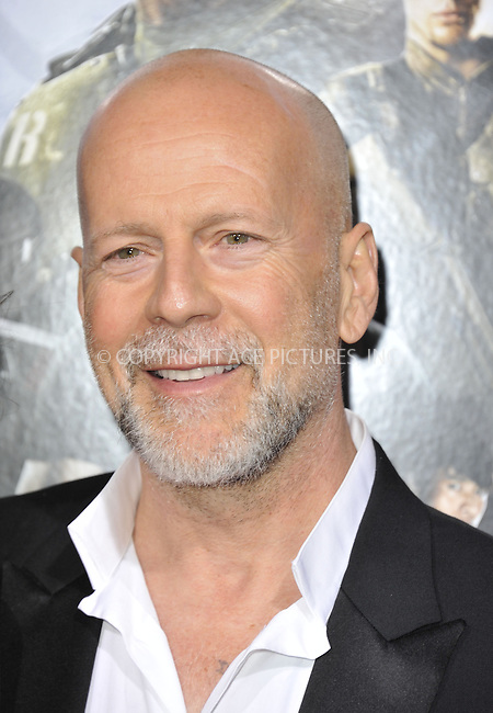 WWW.ACEPIXS.COM....March 28 2013, LA....Actor Bruce Willis arriving at the 'G.I. Joe: Retaliation' Los Angeles premiere at the TCL Chinese Theatre on March 28, 2013 in Hollywood, California.......By Line: Peter West/ACE Pictures......ACE Pictures, Inc...tel: 646 769 0430..Email: info@acepixs.com..www.acepixs.com
