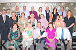 3414-3421.---------.Christening.-----------.After Christening their new baby Karianne,in St Brendan's Church Tralee,by Fr Pat O'Sullivan,last Saturday evening,Sandra and Darren Aherne(seated 2nd&3rd from the Lt)of Rock Park Av Tralee,sat down to a fine dinner in Kirby's Brogue Inn Lower Rock St Tralee with all their family,present were(seated)L-R Margaret Sheehan,Sandra,baby Karianne,Darren and Nathen Aherne,Betty&Pat Horgan(2nd row)L-R Ted Heaslip,Niall&Veronica Donovan,Judy Roche,Angela Horgan,Mary Heaslip,Elaine Tierney,Martina&A?ine Kirby and Emma Smith(back)L-R Neilous Sheehan,Martin Aherne,Frankie Horgan,Karen&Niall Sheehan,Sarah Hunter and Brian Sheehan..----------------------------------------------------