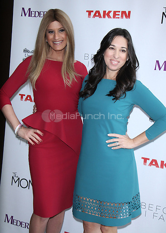 NEW YORK, NY February  28, 2017:Denise Albert, Melissa Musen Gerstein  attend Mamarazzi hosting a conversation with actress Jennifer Beals  to talk about her NBC series Taken and new movie Before I Fall at the Penthouse of the Kimberly Hotel in New York . February 28, 2017. Credit:RW/MediaPunch