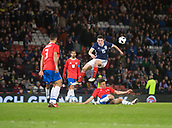 23rd March 2018, Hampden Park, Glasgow, Scotland; International Football Friendly, Scotland versus Costa Rica; David Guzman of Costa Rica blocks John McGinn of Scotland's shot