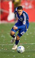 26 April 2009: Kansas City Wizards midfielder/forward Herculez Gomez #2 in action during an MLS game between Kansas City Wizards and Toronto FC.Toronto FC won 1-0. .