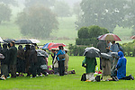 The Walsingham Pilgrimage. Mass is held amongst the ruins of Walsingham Abbey and old Priory ground. North Norfolk, England 2006.
