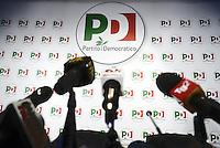 Roma, 6 Novembre 2013<br /> Sede nazionale del Partito Democratico.<br /> Conferenza stampa sulle prime fasi del congresso.